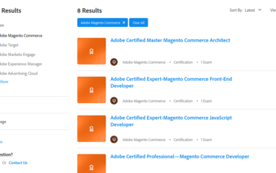 Update to Magento Certifications