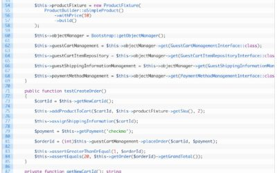 An approach for integration testing the Magento 2 checkout