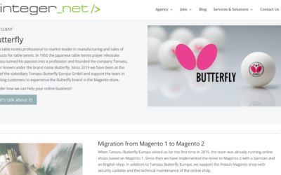 Curtain up for our client: Butterfly